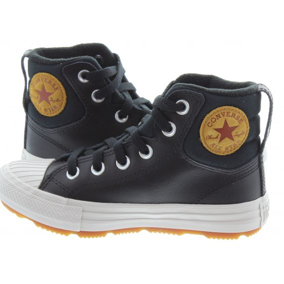 CONVERSE Kids Berkshire Lace Boots In Black