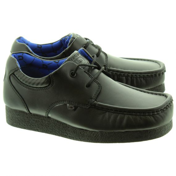 DEAKINS Kids Colonel Apron Shoes In Black