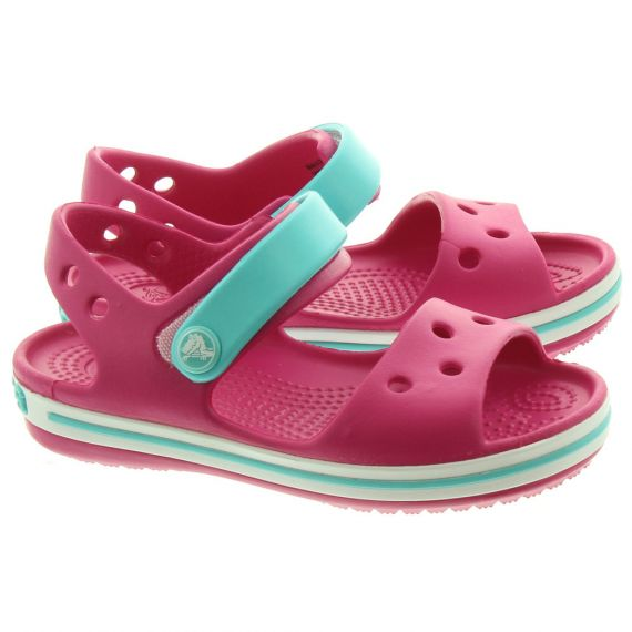 CROCS Kids Crocband Sandal In Candy Pink