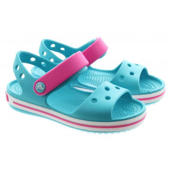 CROCS Kids Crocband Sandals In Aqua