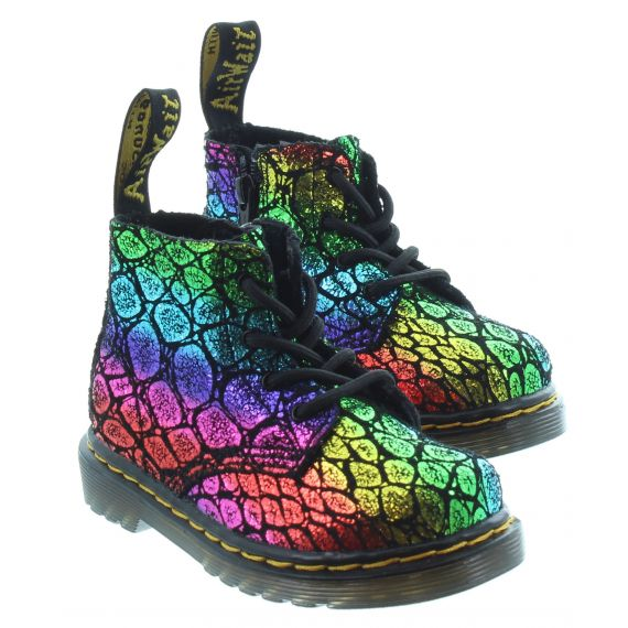 DR MARTENS Kids Dr Martens 1460 Pascal in Rainbow