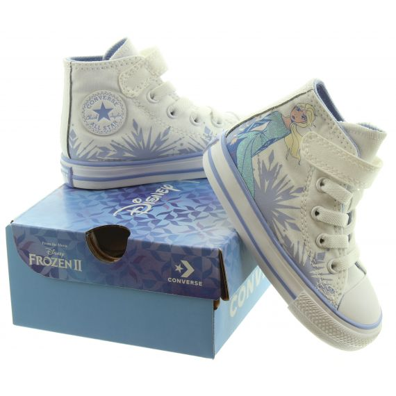 CONVERSE Kids Elsa Toddler Boots In White