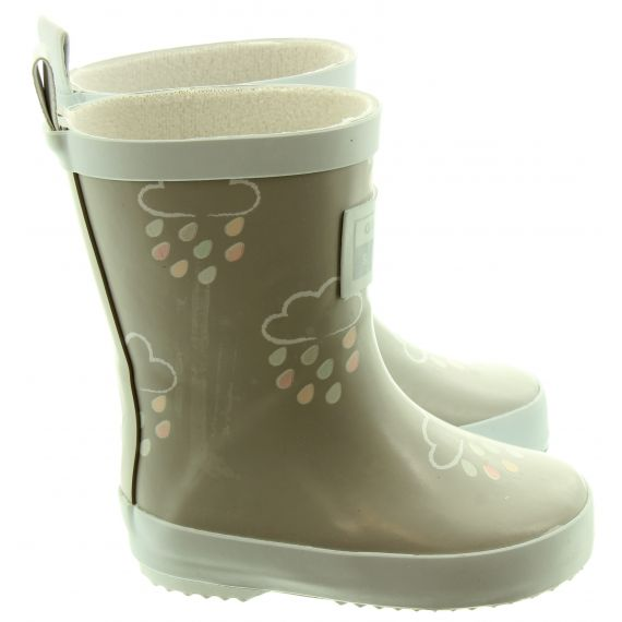 GRASS AND AIR Kids GA300 Colour Changing Wellies In Grey