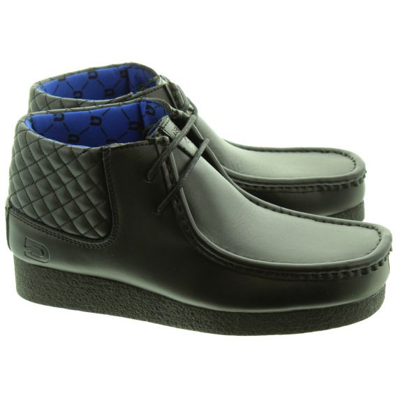 DEAKINS Kids Gennaro Apron Boots In Black