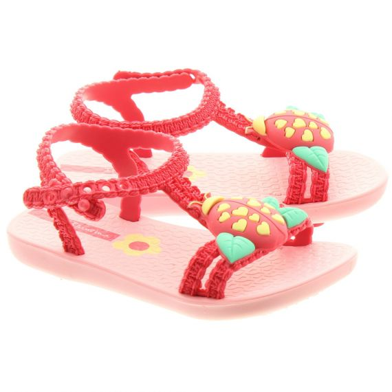 IPANEMA Kids Ladybird Sandals In Pink