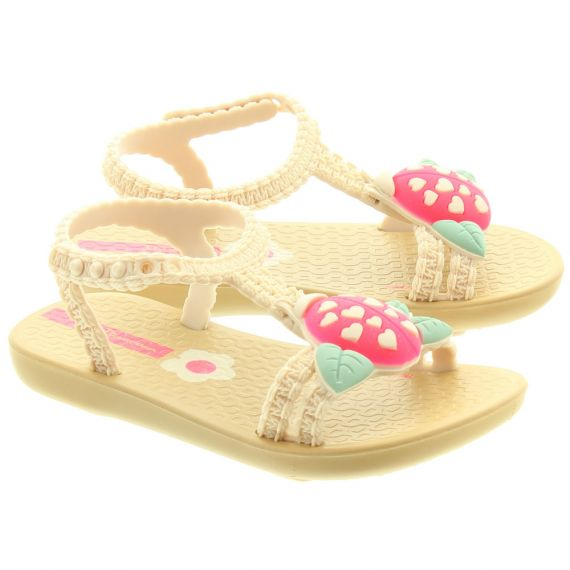 IPANEMA Kids Ladybird Sandals In Sand