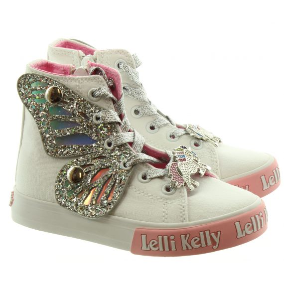LELLI KELLY Kids Lelli Kelly LK1330 Unicorn in White/Silver