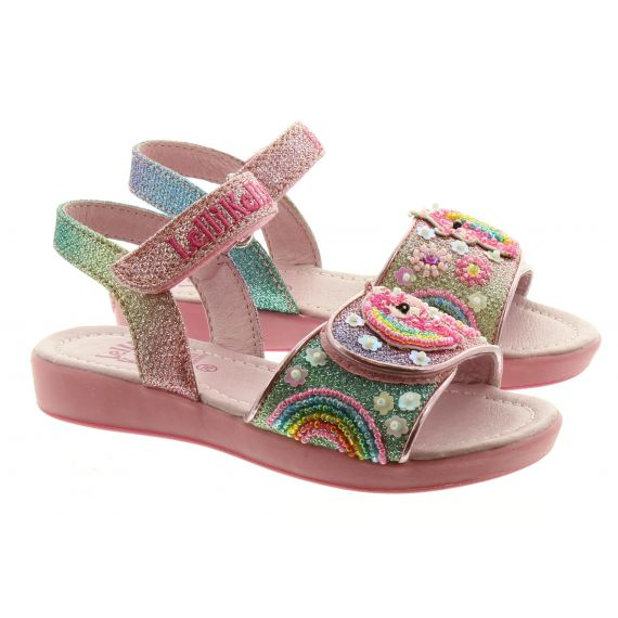 LELLI KELLY Kids Lelli Kelly LK1402 Unicorn Sandal in Multi