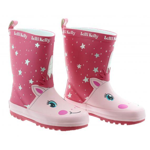 LELLI KELLY Kids Lelli Kelly LK5950 Welly in Pink