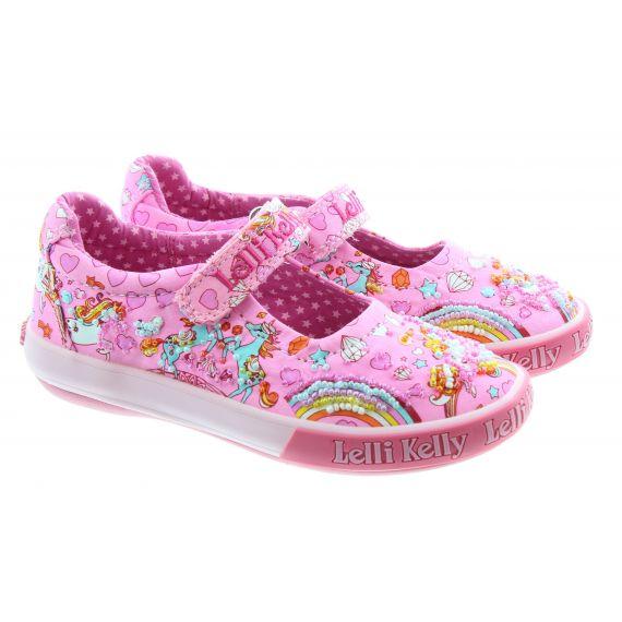 LELLI KELLY Kids lk1050 Dorothy Unicorn Bar Shoes In Pink