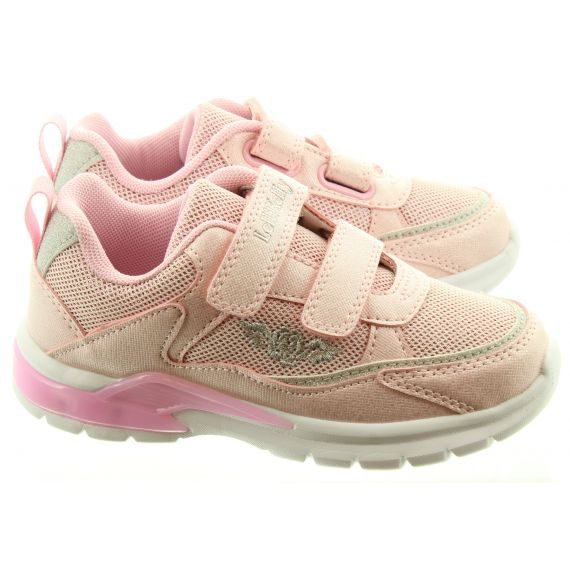 LELLI KELLY Kids LK1859 Margot Light Up Trainers In Pink