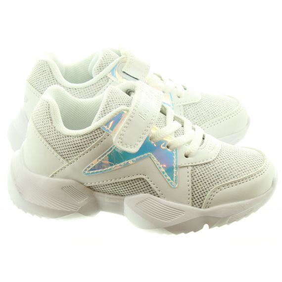 LELLI KELLY Kids LK1872 Pepper Trainers In White