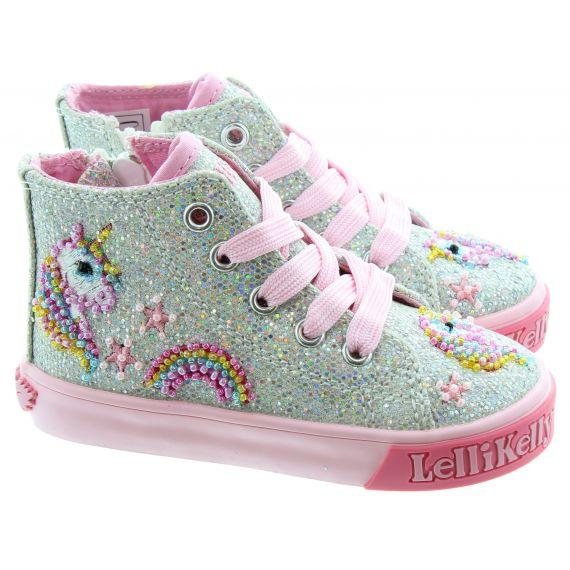 LELLI KELLY Kids LK6004 Baby Boots In Silver