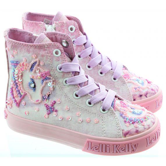 LELLI KELLY Kids LK7020 Unicorn Boot in Lilac