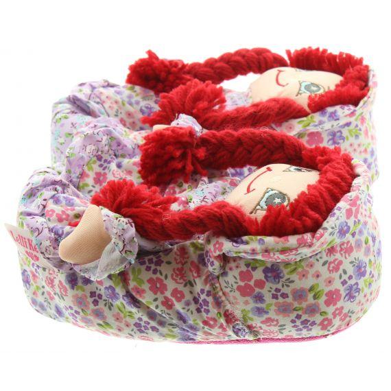 LELLI KELLY Kids LK8000 Doll Slippers In Lilac