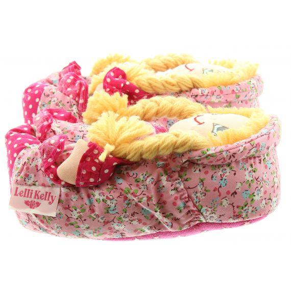 LELLI KELLY Kids LK8000 Doll Slippers In Pink