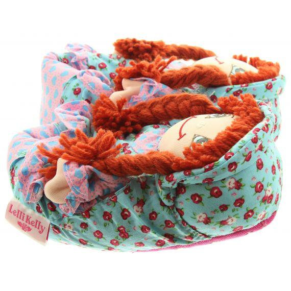LELLI KELLY Kids LK8000 Doll Slippers In Turquoise