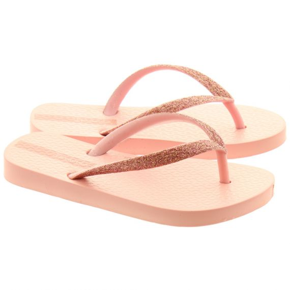 IPANEMA Kids Lolita Glitter Sandals In Pink