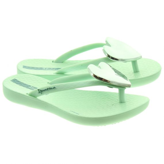 IPANEMA Kids Maxi Heart Sandals In Aqua
