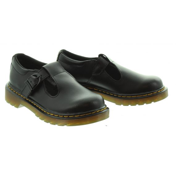 DRMARTENS Kids Polley in Black