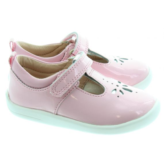 START_RITE Kids Puzzle Baby Shoes in Pink Glitter