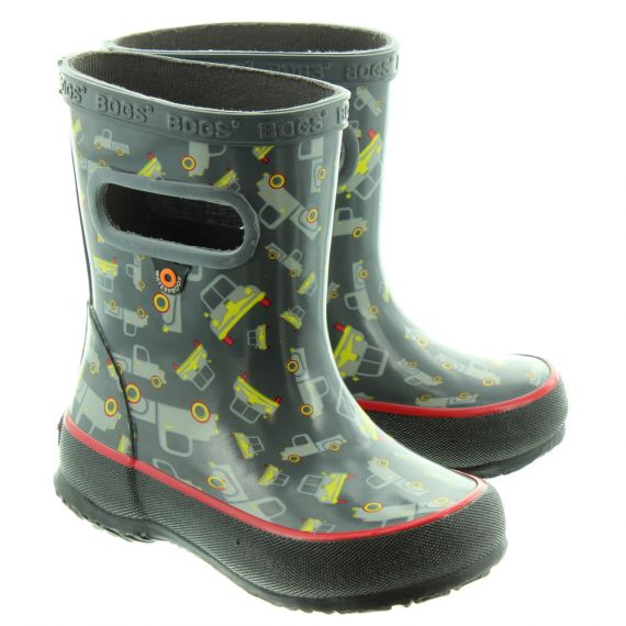 BOGS Kids Skipper Welly In Grey