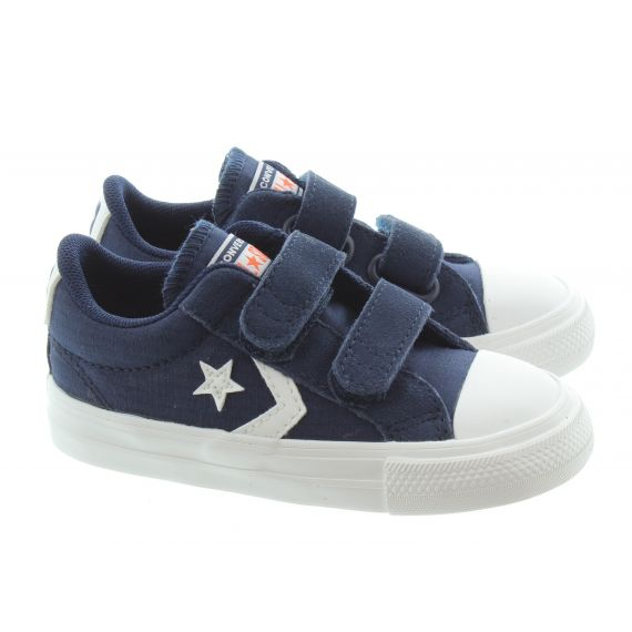 CONVERSE Kids Star Player 2V Trainers In Dark Navy