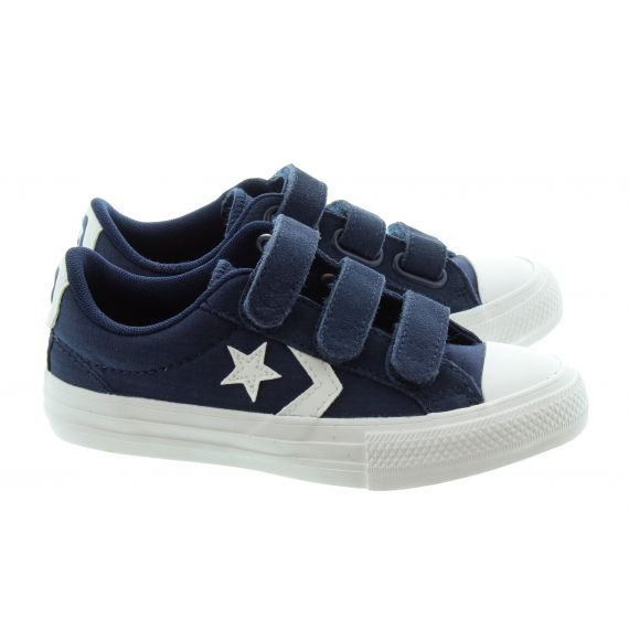 CONVERSE Kids Star Player 3V Trainers In Dark Navy