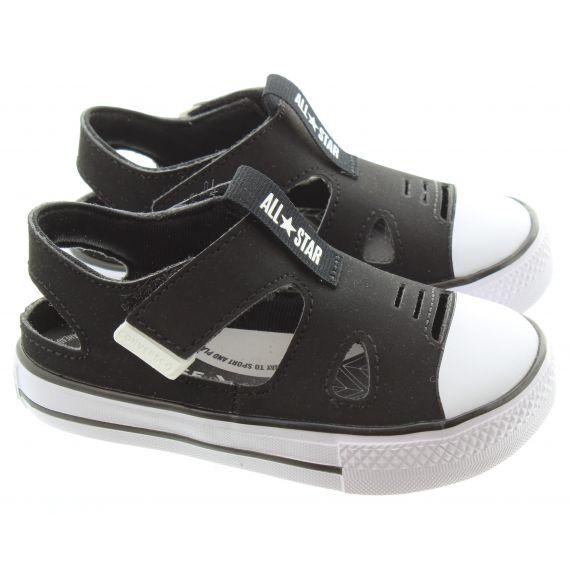 CONVERSE Kids Superplay Sandal in Black