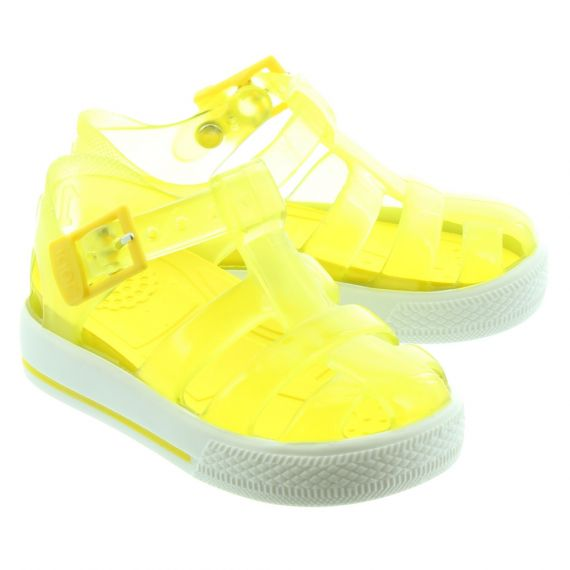 IGOR Kids Tenis Sandals In Yellow