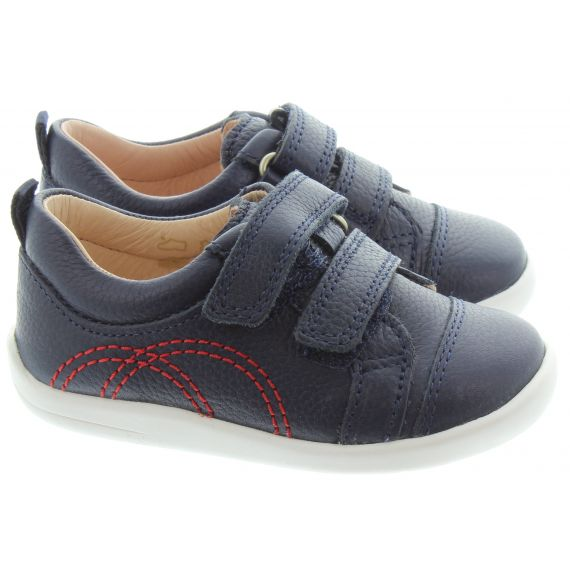 START_RITE Kids Tree House Baby Shoes in Navy