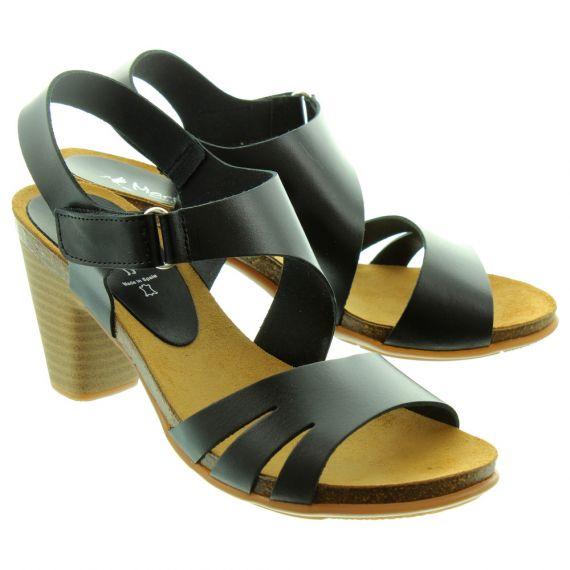MARILA Ladies 11821 Heel Sandals In Black