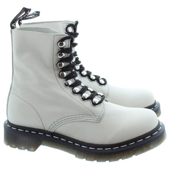 DR MARTENS Ladies 1460 Pascal HDW Boot in Bone