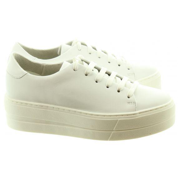 TAMARIS Ladies 23756 Flatfrom Trainers In White
