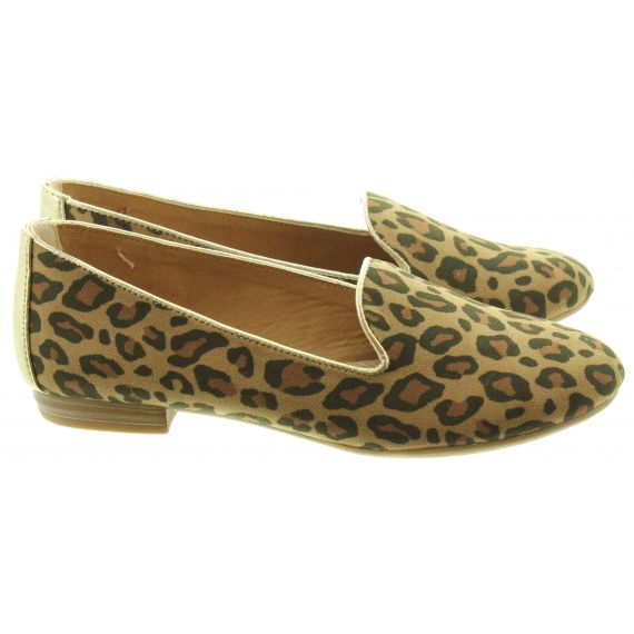 MARCO TOZZI Ladies 24235 Flat shoes In Leopard