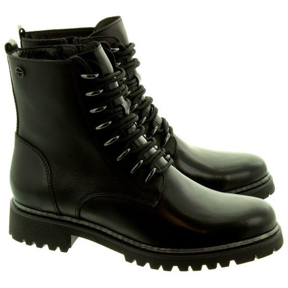 TAMARIS Ladies 25234 Ankle Boots In Black