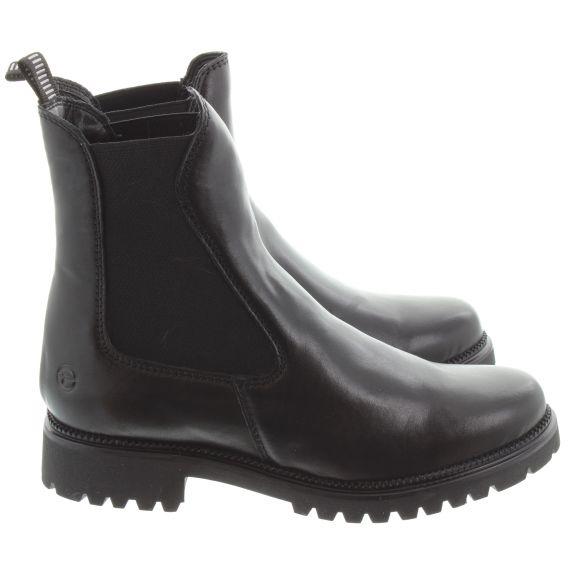 TAMARIS Ladies 25427 Chelsea Boot in Black