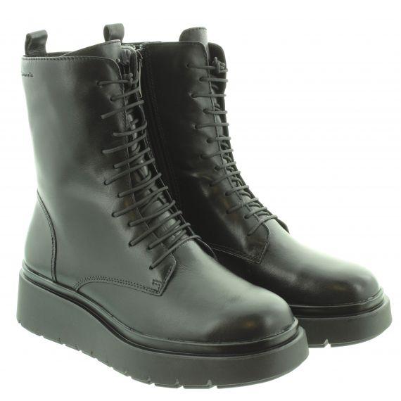 TAMARIS Ladies 25811 Flatform Boots In Black