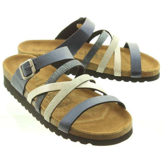 JAKE Ladies 274244 Sandals In Blue