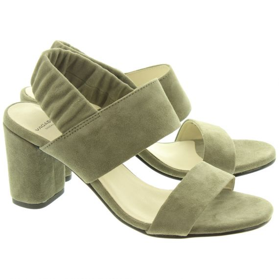 VAGABOND Ladies 4738 Penny Sandals In Olive
