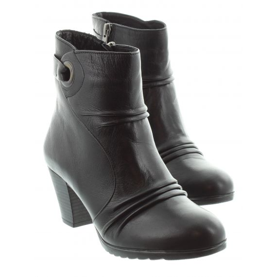 ADESSO Ladies Adesso Piper Heeled Ankle Boot in Black