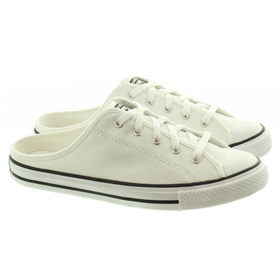 CONVERSE Ladies All Star Dainty Mule Slip In White