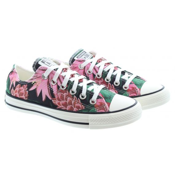 CONVERSE Ladies All Star Ox Jungle Shoes In Multi