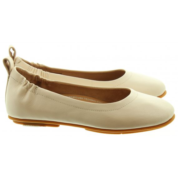 FITFLOP Ladies Allegro Ballerina Pumps In Stone