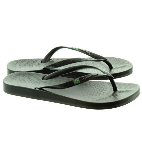 IPANEMA Ladies Anatomica Sandals In Black