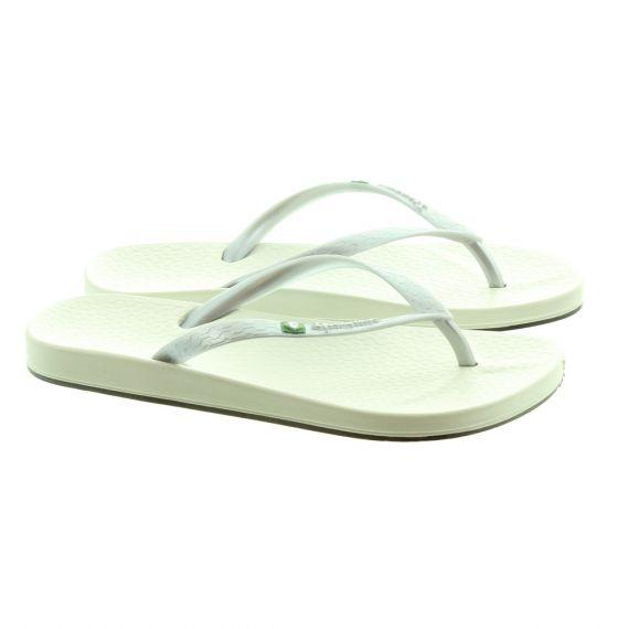 IPANEMA Ladies Anatomica Sandals In Silver