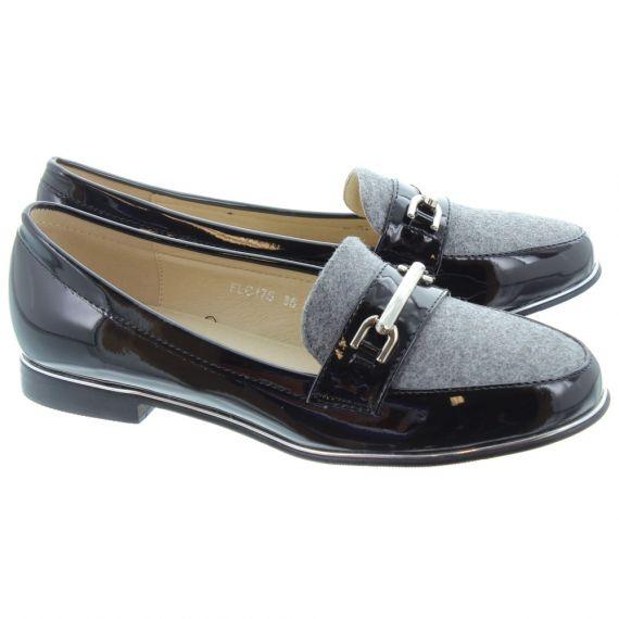 LUNAR Ladies Antonella Loafers In Grey