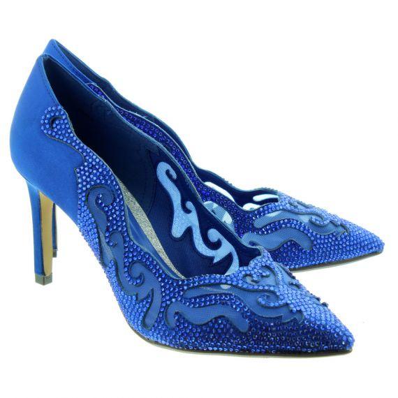 LUNAR Ladies Arkle Elegance Shoes In Blue