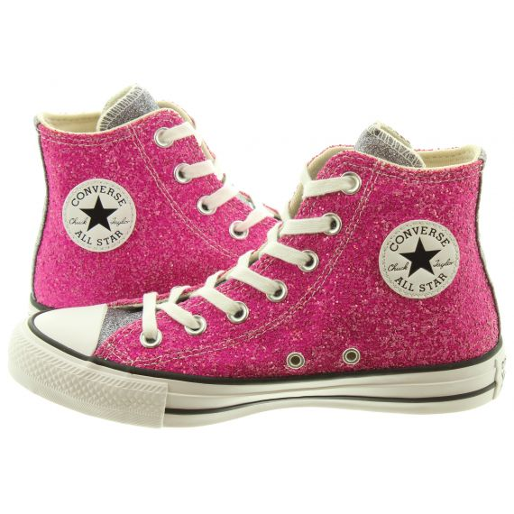 CONVERSE Ladies AS Glitter Hi Boots In