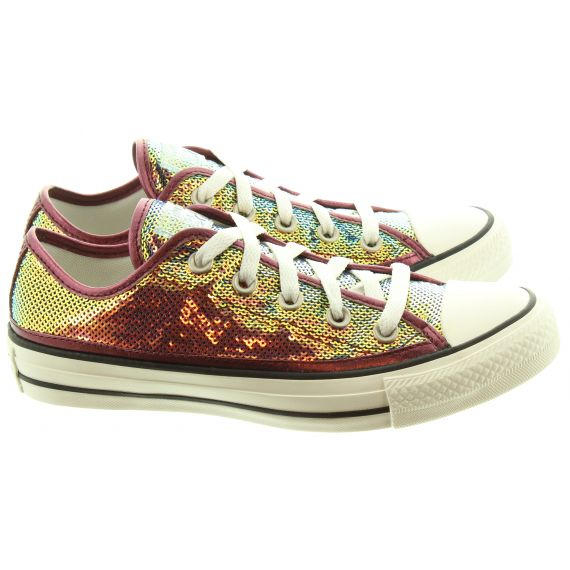 CONVERSE Ladies AS Prime Ox Shoes In Pink